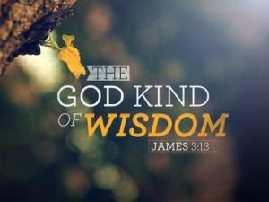 james-3-13, wisdom