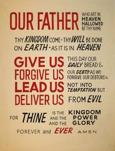 Lord's Prayer – Part 2