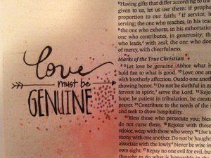 romans 12-9-21, love