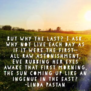 Imaginary Conversation by Linda Pastan