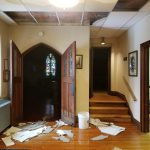 Water Damage at St. Andrew's