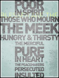 Preparing for Sunday: The Beatitudes