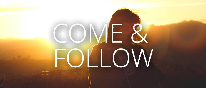 Preparing for Sunday: Following Jesus